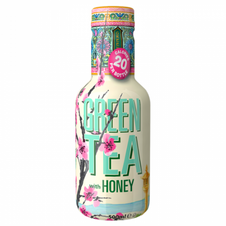 AriZona Green Tea with Honey Low Calorie 500ml ( Netherlands )